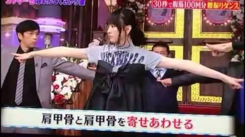 来吧!姐妹们!夏天到了!我们一起美起来!解密日本瘦腰锻炼法